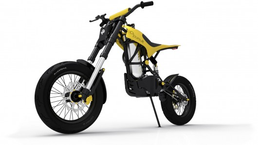 02 Pursuit motorcycle runs on compressed air