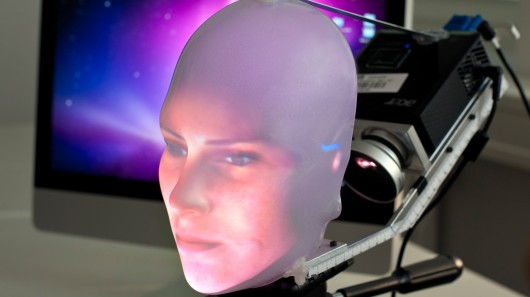 Mask-bot takes a new approach to giving robots a human face
