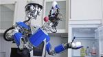 Robot Obeys Commands and Gestures