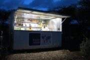 The world's first SolarKiosk opens in Ethiopia