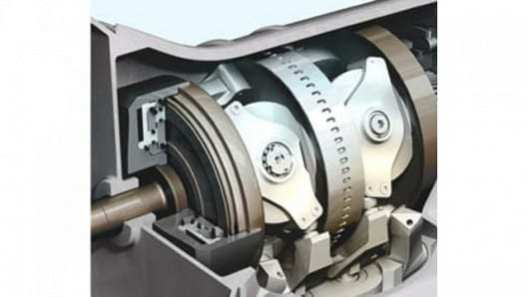 The disc and roller system used in Torotrak's CVT and IVTs