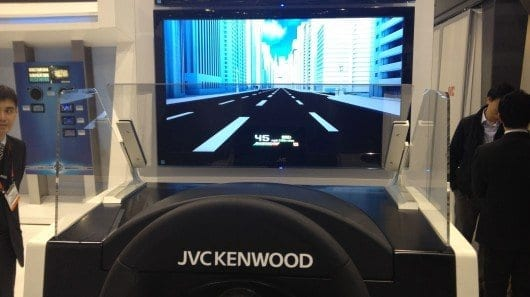 JVC Kenwood shows off prototype heads-up display