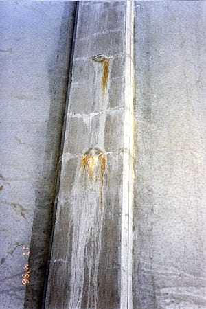 A self-healing protective coating for concrete
