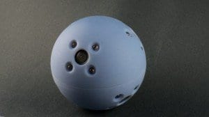 Bouncy-ball cameras scout out dangerous situations