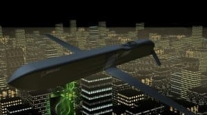 CHAMP missile test flight knocks out electronic devices with a burst of energy
