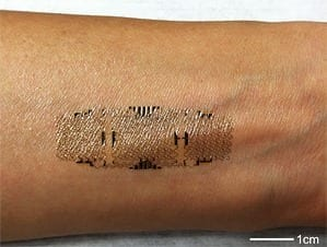 Electronic Sensors Printed Directly on the Skin