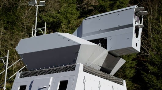 Rheinmetall's 50kW high-energy laser weapon successfully passes tests