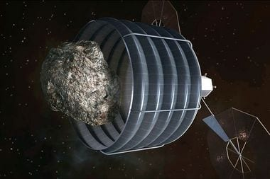 NASA's proposed asteroid-snaring mission would ride on Glenn ion engines