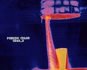 Scanning for drunks with a thermal camera