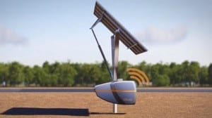 QBotix system uses mobile robots to optimize solar panel orientation