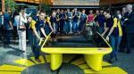 New solar car from U-Michigan has sleek, asymmetrical design