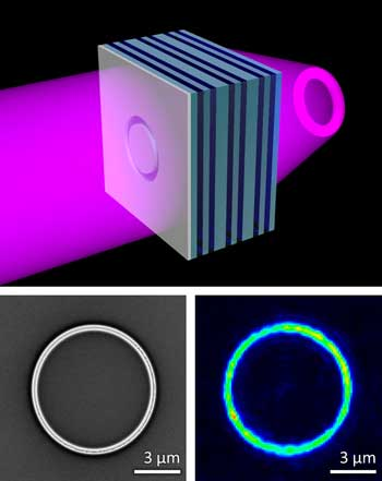 Scientists Build Record-Setting Metamaterial Flat Lens
