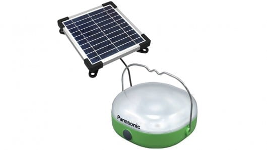 Panasonic to distribute 100,000 solar lantern/chargers to the developing world