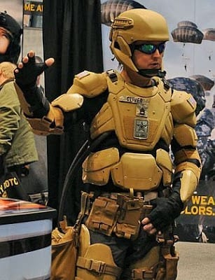 For the high-tech warfighter, the future of electronics-laden uniforms is here