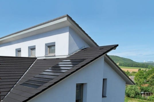 Ultra Thin Solar Tiles Seamlessly Integrate Into Rooftops