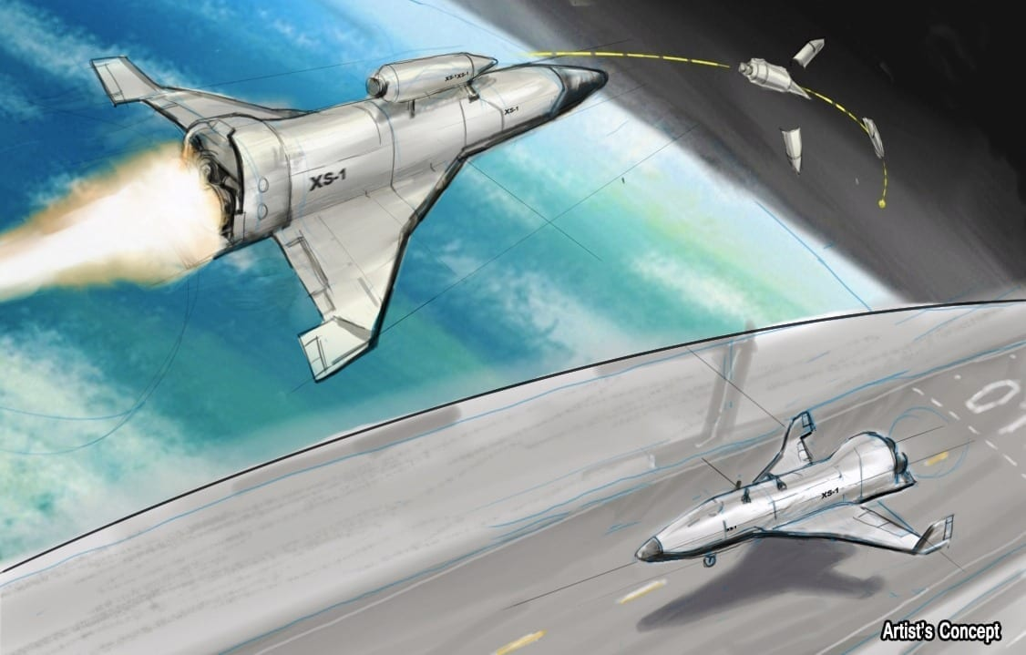New Spaceplane Must Be Capable of 10 Return Trips in 10 days