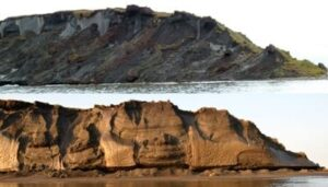 Thawing Permafrost: The speed of coastal erosion in Eastern Siberia has nearly doubled