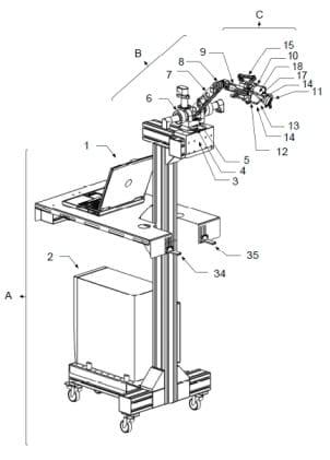 Robot aguja interior en
