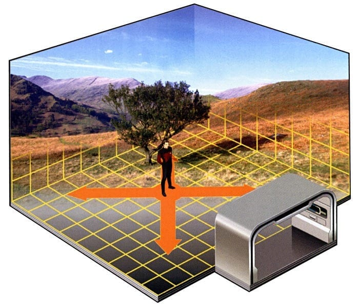 Disruptions: The Holodeck Begins to Take Shape