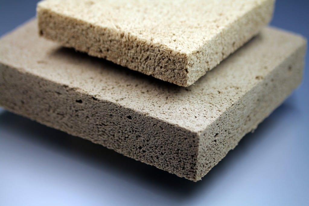 Wood Foam to Replace Plastic Insulation