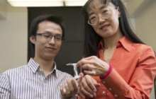 Gummy material addresses safety of lithium ion batteries