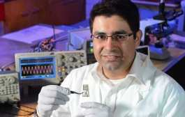 Iowa State materials scientist developing materials and electronics that dissolve when triggered