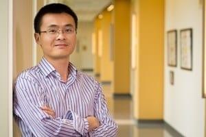 Yurong Yang, research assistant professor, University of Arkansas. Photo by Russell Cothren, University of Arkansas