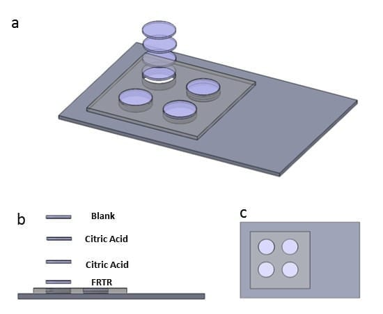 Paper assay: This approach is used to prepare a paper assay that can tell whether a common drug used to treat malaria is genuine. Credit: (Graphic courtesy of Oregon State University)