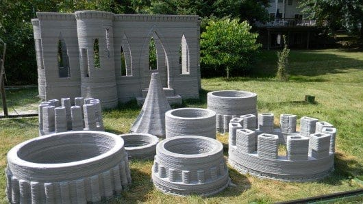 3D-printed castle heralds future of click-and-print architecture