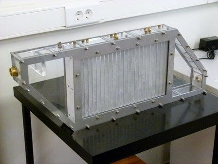 View of the thermal energy storage prototype via University of the Basque Country