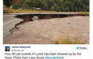 Tweets during 2013 Colorado floods gave engineers valuable data on infrastructure damage