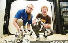 Using 3D printers to print out self-learning robots