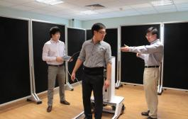 Novel robotic walker invented by NUS researchers helps patients regain natural gait and increases productivity of physiotherapists