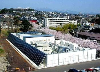 A local microgrid in Sendai, Japan (Photo credit: Wikipedia)