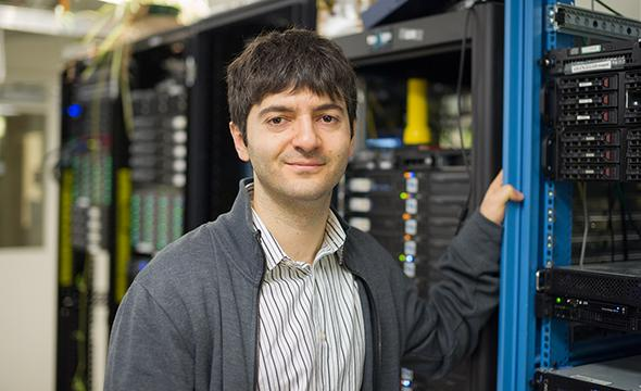 Gevorg Grigoryan, an assistant professor of computer science at Dartmouth College, and researchers from other institutions have built the first artificial transporter protein that carries individual atoms across membranes, opening the possibility of engineering a new class of smart molecules with applications in fields as wide ranging as nanotechnology and medicine.