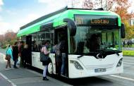 Fast charging electric bus does overtime