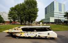 A Solar Powered Car Fit for a Jetsons Family Outing