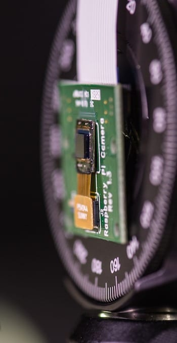 FlatCam, thinner than a dime, shows promise to turn flat, curved or flexible surfaces into cameras. Photo by Jeff Fitlow