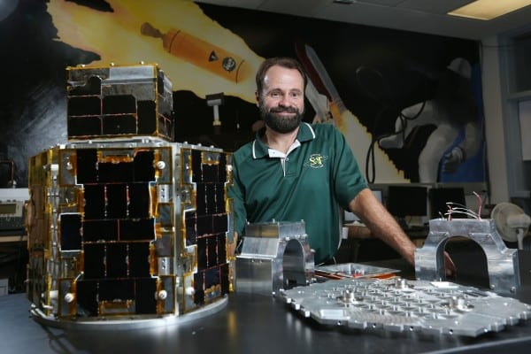 Sam O'Keefe/Missouri S&T Professor Hank Pernicka and his team at Missouri S&T have developed a microsatellite imager in an Air Force contest and are working to produce the final version for delivery in 2017.
