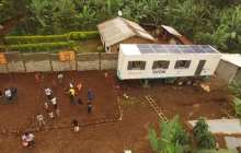 DigiTruck: A solar-powered container classroom for Africa