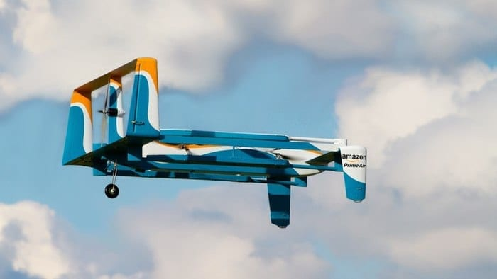 Amazon's new Prime Air Delivery drone (Credit: Amazon)