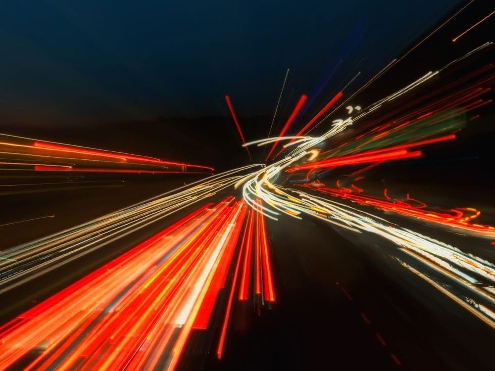 Record for fastest data rate set at 50,000 times greater than 24 megabits per second (Mb/s)