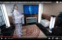 Holoportation: Microsoft Research envisions telecommuting via Hololens