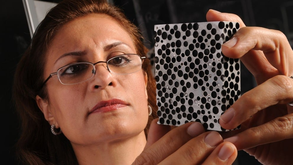 Study Finds Metal Foam Handles Heat Better Than Steel