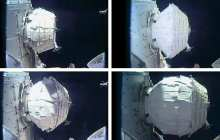 BEAM: Expandable space station module expands to full size