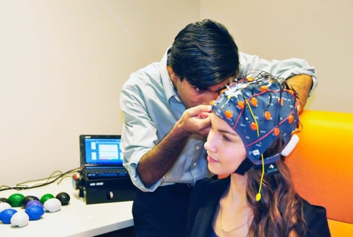 The brain vital signs platform works with any brainwave devices.