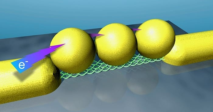 Researchers develop DNA-based single-electron electronic devices