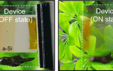 Solar smart windows that can turn opaque on demand and even power other devices