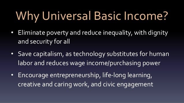 unemployment insurance and universal basic income A basic income (also called basic income guarantee, citizen's income, unconditional basic income, universal basic income (ubi), basic living stipend (bls) or.