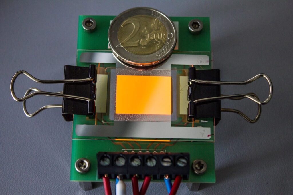 OLED electrodes from graphene are finally here
